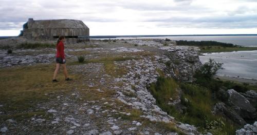 En kvarglömd bunker ute på Grogarnsberget