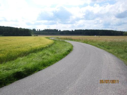 Om alla vägar var så här fina...