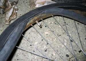 byta däck cykel pris